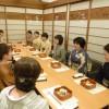 「きもの大好き会 和組」10周年の食事会
