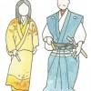 歴史の勉強  衣服の変化 安土桃山時代~江戸時代
