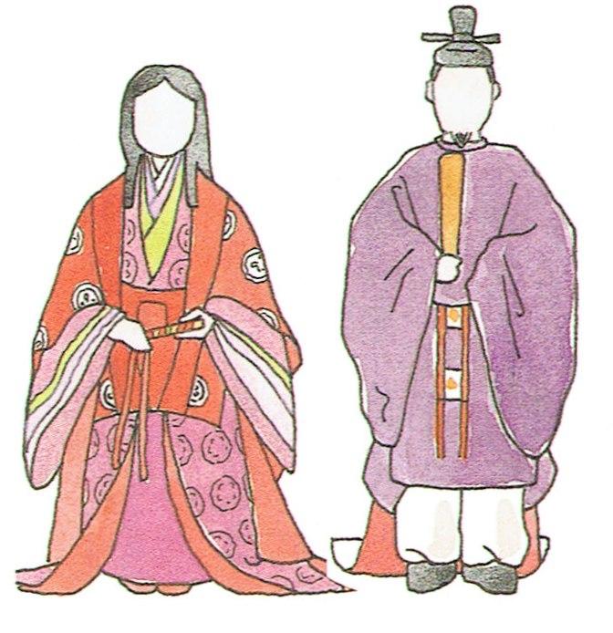 歴史の勉強 衣服の変化 平安時代~鎌倉・室町時代