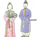 歴史の勉強  衣服の変化 古墳~飛鳥・奈良時代