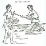 歴史の勉強  衣服の変化 旧石器~弥生時代